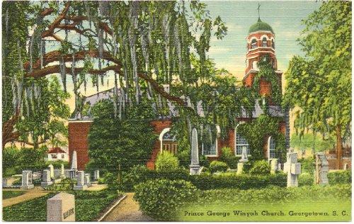 1940s Vintage Postcard - Prince George Winyah