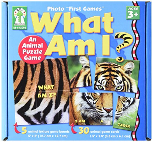 Key Education 842002 Photo First Games, What Am I (CDP842002)