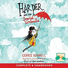 Harper and the Scarlet Umbrella Audiobook by Cerrie Burnell Narrated by Cerrie Burnell