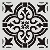 Stencils Reusable 12x12 Inch Wall Template Stencil for Painting Wall/Floors/DIY Home Decor/Drawing Art (Color: A4, Tamaño: 2PC)