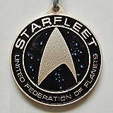 Movie Star Trek Beyond Logo multicolor 5cm Metal Keychain Keyring 2016