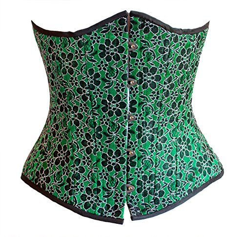 Timeless Trends Women's Poison Ivy Corset 20 Green