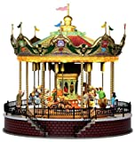 Lemax Caddington Village Sights and Sounds Sunshine Carousel Table Piece #14325