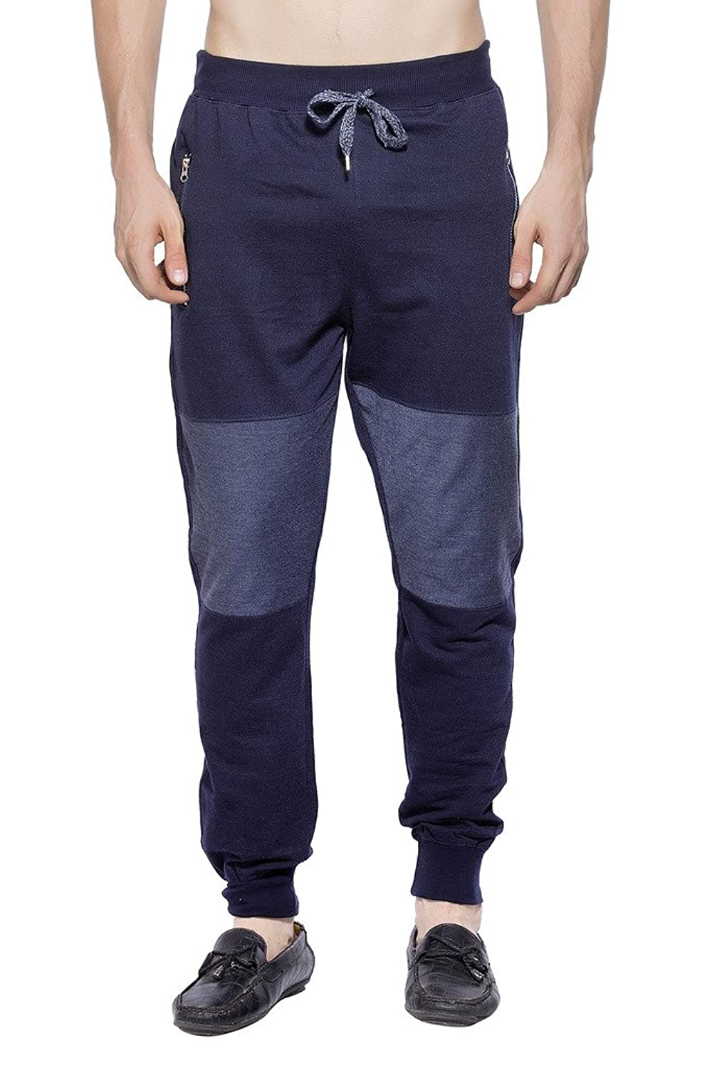 Maniac Solid Men's Navy Track Pants