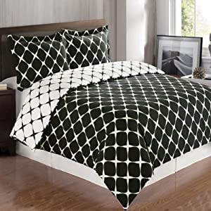 bloomingdale reversible 3pc twin twin xl complete comforter set 100 egyptian. Black Bedroom Furniture Sets. Home Design Ideas