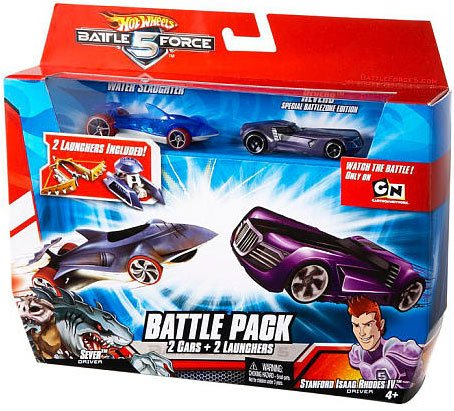 Buy Low Price Mattel Hot Wheels Battle Force 5 164 Scale Die Cast 2Car Battle Pack Water Slaughter Special Battlezone Edition Reverb Random Color Cars Figure (B003UT3B4U)