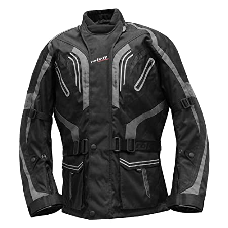 Roleff Racewear 5166 Blouson de Moto Lima Gris