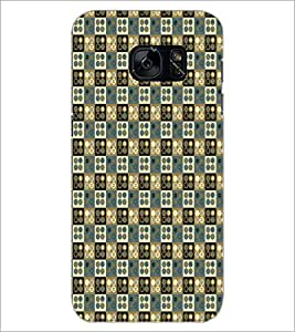 PrintDhaba Pattern D-5929 Back Case Cover for SAMSUNG GALAXY S7 (Multi-Coloured)
