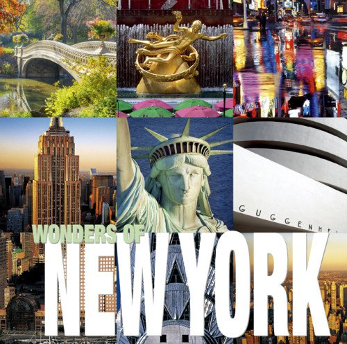 Wonders Of New York (Cubebook)
