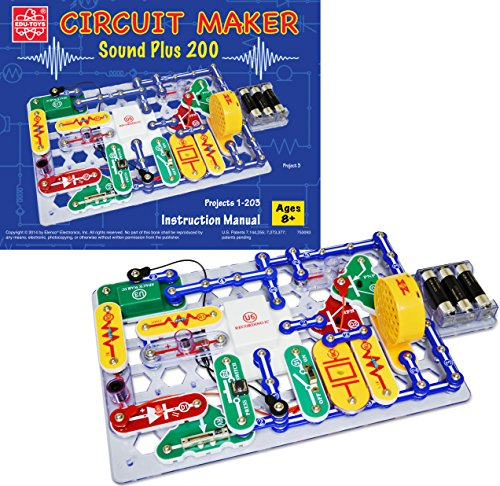Elenco Circuit Maker 200电路积木图片