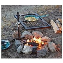 Guide Gear Swivel Fire Pit Grill