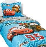 Cars Buddies Twin Comforter Set, Blue