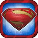 Superman Party Supplies - Superman Dinner Plates - 8 Count