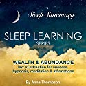 Wealth & Abundance: Law of Attraction for Success: Hypnosis, Meditation & Affirmations: Sleep Learning Series Audiobook by Anna Thompson Narrated by Anna Thompson