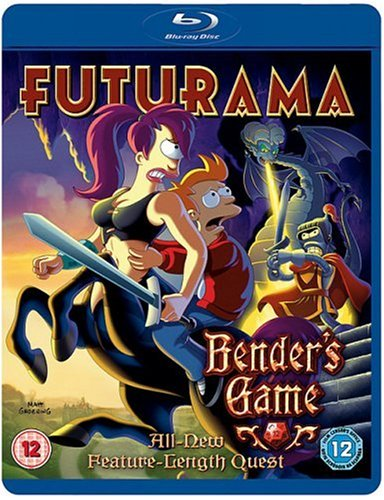 Futurama - Bender's Game [Blu-ray] [2008] [Region