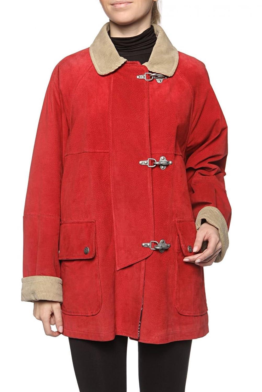 Cristiano di Thiene Damen Jacke Lederjacke PECCARY, Farbe: Rot online bestellen