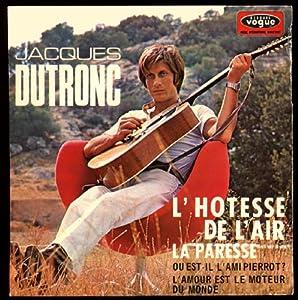Disque vinyle EP 45 tours 4 titres Jacques Dutronc Vogue 8679 : L