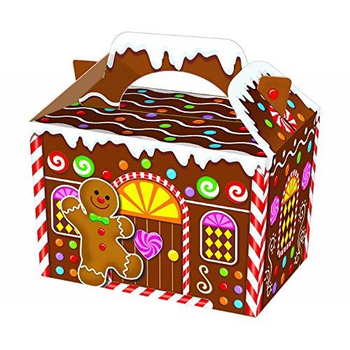 10Bonhomme en pain d'épices, maison parti alimentaire Boîte Cadeau Design.. par Boho