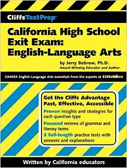 california cahsee essay