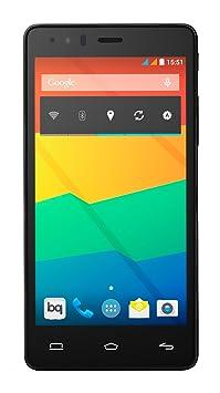 BQ Aquaris E5 HD Smartphone débloqué (5 pouces - 16 Go) Noir (import Espagne)