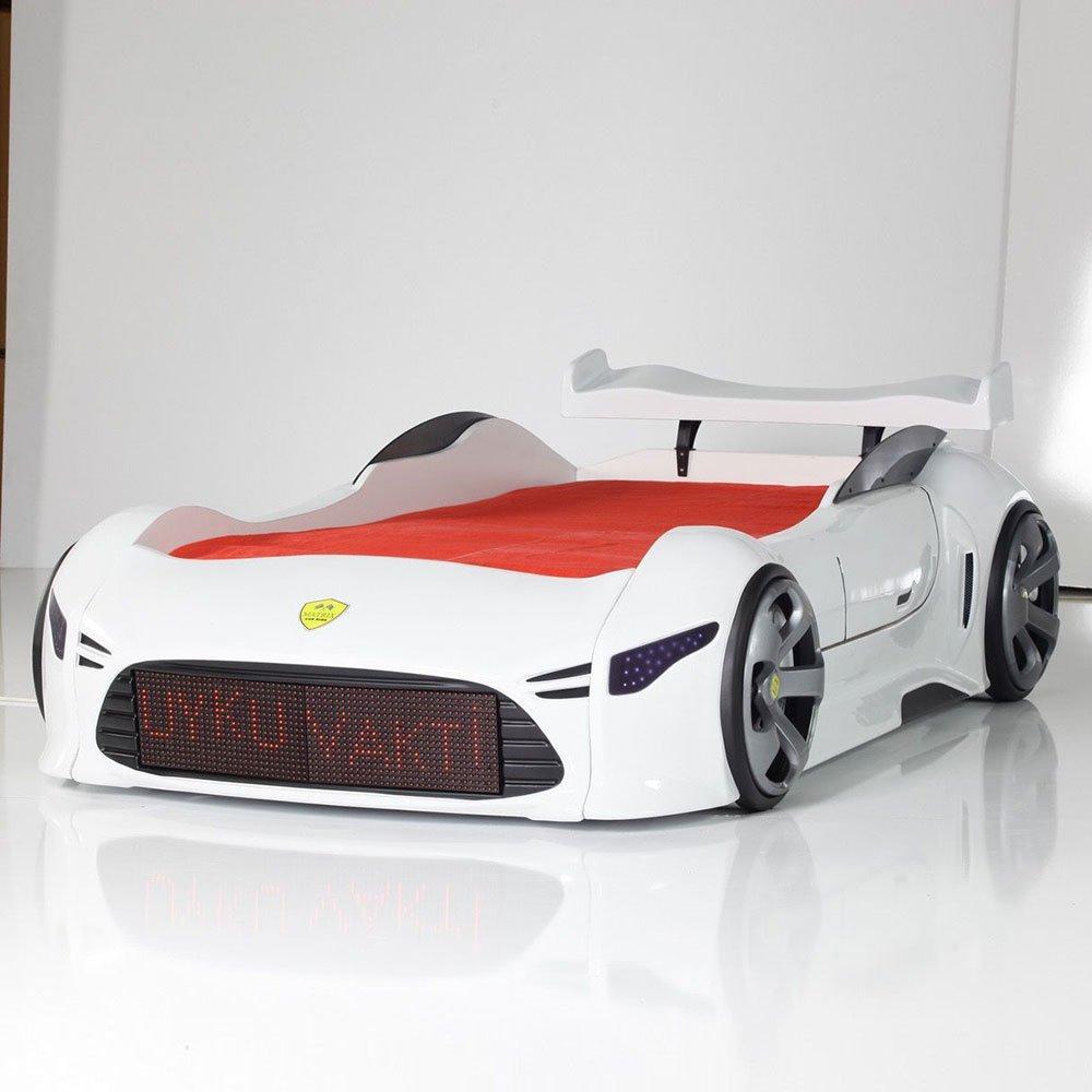 Autobett in Weiß LED Schrift Pharao24 online bestellen