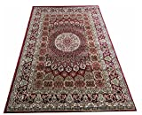 NEW HIGH QUALITY A RAHMAN CARPET THE MOST PREFER DESINE COLOR MAROON BLACK SIZE  9 x 12  available at Amazon for Rs.18599