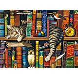Buffalo Games Charles Wysocki Cats: Frederick The Literate Jigsaw Puzzle (750 Piece)