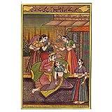 Contemporary Art Miniatures India Folk Paintings ~ ShalinIndia