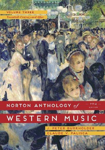 The Norton Anthology of Western Music: 3