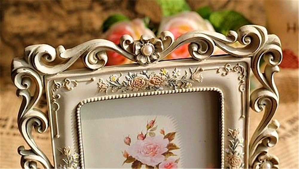 Gift Garden Vintage Picture Frame 5 by 7 -Inch Hollow up for Photo 5x7 3
