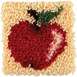 Wonderart 426101 Apple Latch Hook Kit 20 x 20cm