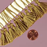 Gold Mini Tassel, 2""