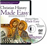 "Christian History Made Easy ""Leader Pack"" for Group or Individual study (12-session DVD)"