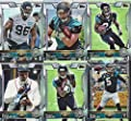 Jacksonville Jaguars 2015 Topps NFL Football Complete Regular Issue 13 Card Team Set Including Blake Bortles, Julius Thomas, Marqise Lee Plus