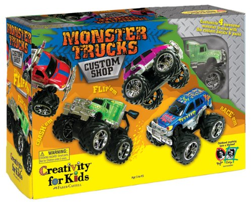 Toy Trucks For Four Year Old Boys : Best toys for year old boys creativity kids monster