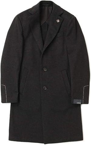 LARDINI ラルディーニ チェスター フィールド コート シングル ウール JQ23143AQ