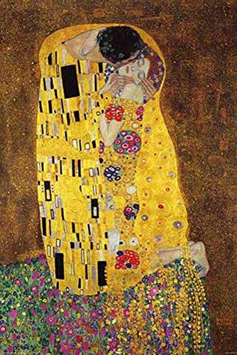"""'poster """"Gustav Klimt, the Kiss + accessori"""