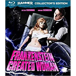 Frankenstein Created Woman [Collector's Edition Blu-ray]