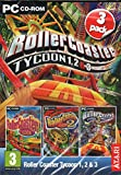 Rollercoaster Tycoon 1, 2 & 3 (PC CDROM)