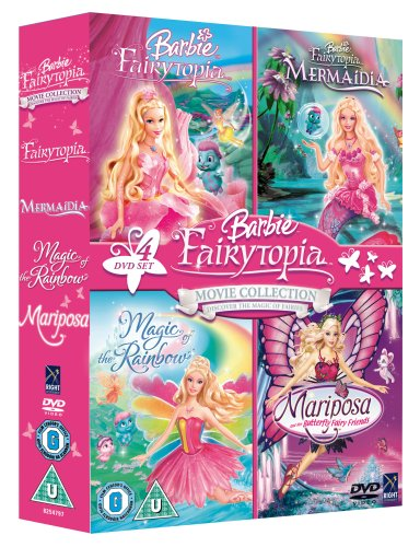 Barbie Mariposa Fairytopia Collection Boxset [DVD]