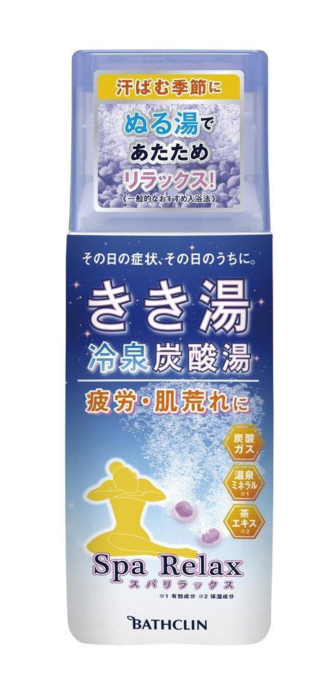 きき湯 冷泉炭酸湯 スパリラックス (医薬部外品) 360g