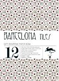 Barcelona tiles,  Volumes 36. Grandes feuilles de papier cadeau de haute qualité.
