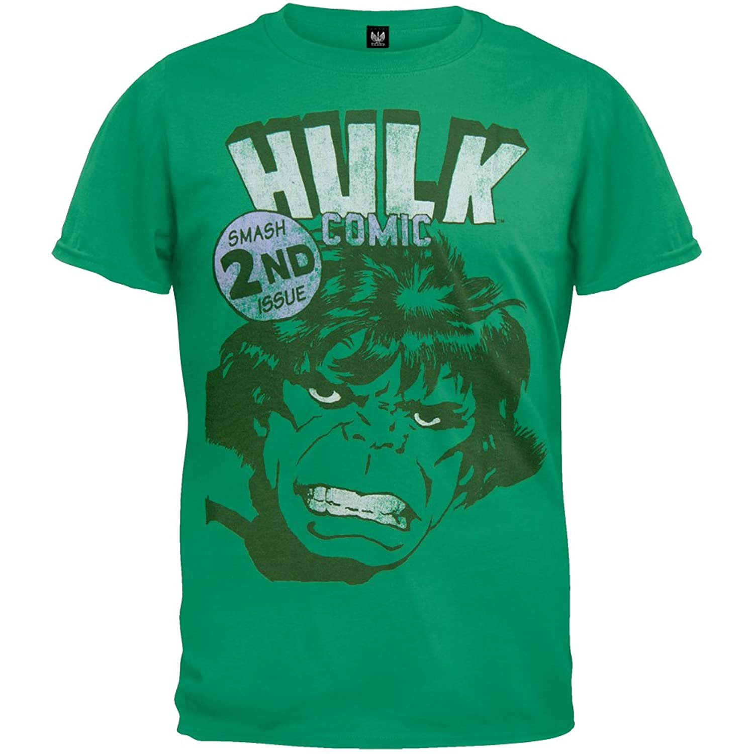 Incredible Hulk - Smash 2nd Issue Soft T-Shirt hulk