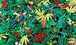 25 Random Lego Trees Leaves Plants Shrubbery and Greenery Pieces (New)