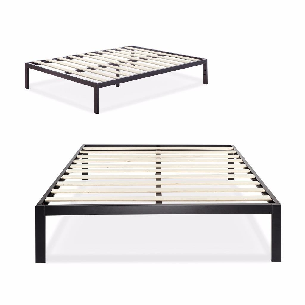 Zinus 3000 metal platform bed frame twin ebay Metal twin bed frame