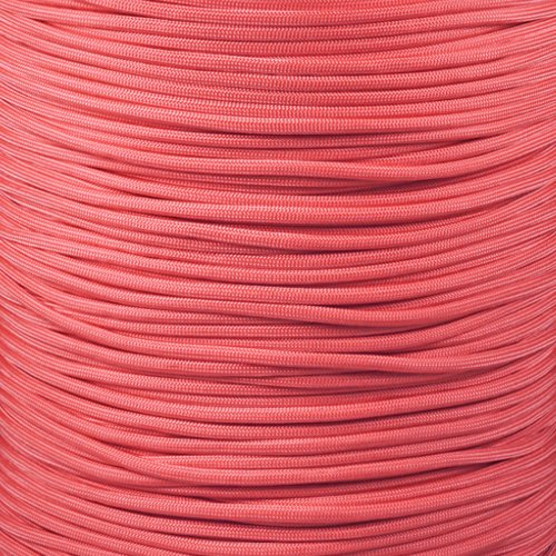 Paracord Planet 550 Cord Type III 7 Strand Paracord 50 Foot Hank - Pink