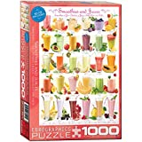 Eurographics Smoothies and Juices Puzzle (1000 Pieces)
