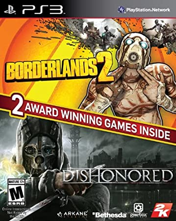 The Borderlands 2 & Dishonored Bundle - PlayStation 3