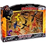 Dreamworks Dragons, How to Train Your Dragon 2 Movie, Exclusive Ultimate Battle Figure Collection, 12-Pack