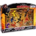 How to Train Your Dragon 2 Ultimate Battle Figure Collection 12-Pack New!